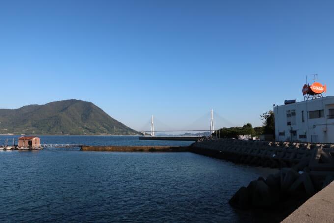 しまなみ海道大三島 海鮮料理くろしお 生け簀