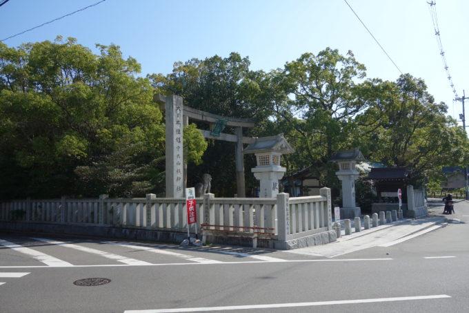 しまなみ海道大三島「大漁」の向かいにある大山祇神社