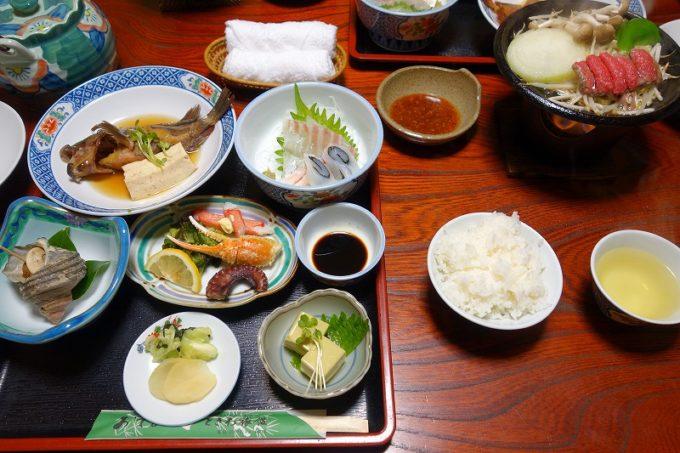 しまなみ海道大三島 ときわ旅館の料理
