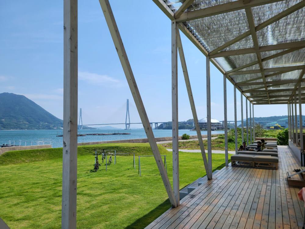 しまなみ海道大三島 WAKKA(わっか)からの景色