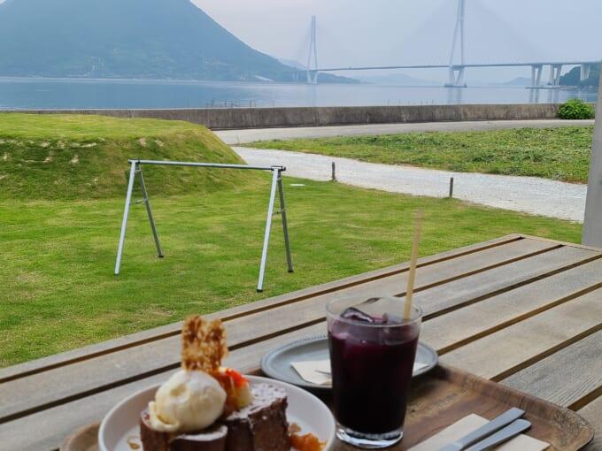 しまなみ海道大三島 WAKKA(わっか)のカフェタイム