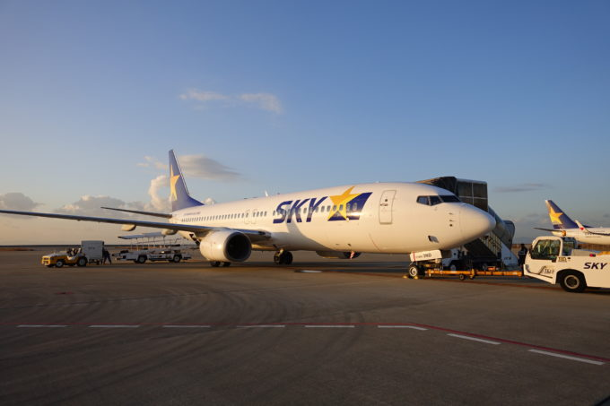 スカイマークの飛行機