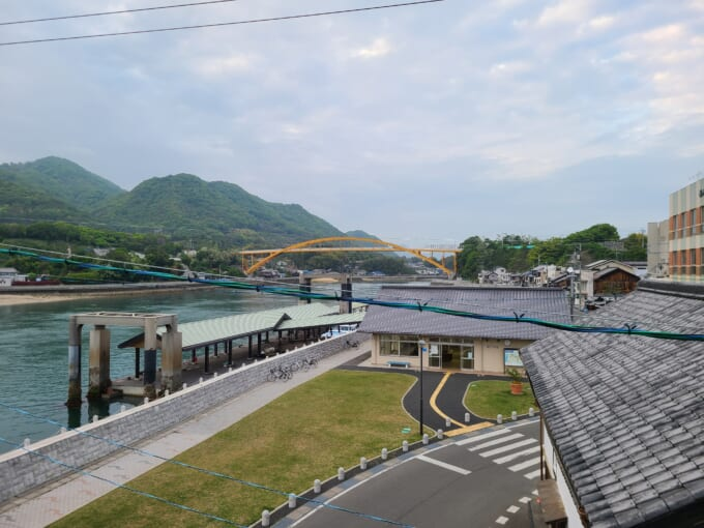 ソイル瀬戸田の屋上からの景色
