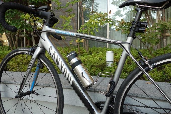 サーモスのロードバイク専用ボトル ストローボトルFFQ-600