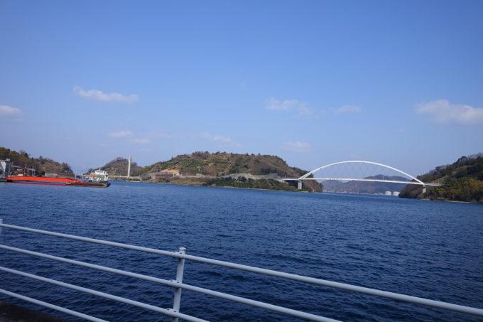 とびしま海道 大崎下島から見る岡村島