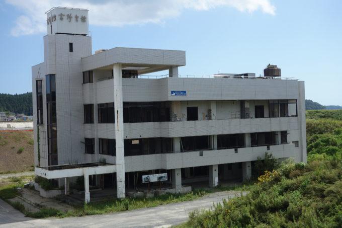震災遺構ブライダルパレス高野会館拡大