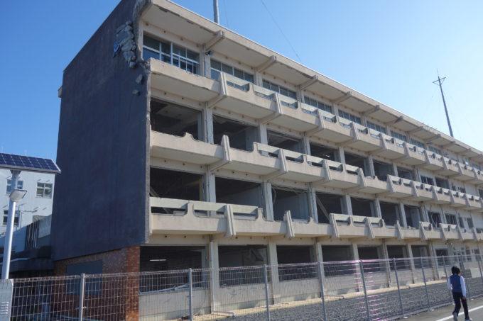 気仙沼向洋高校の旧校舎「波路上・伝承館(はじかみ・でんしょうかん)」