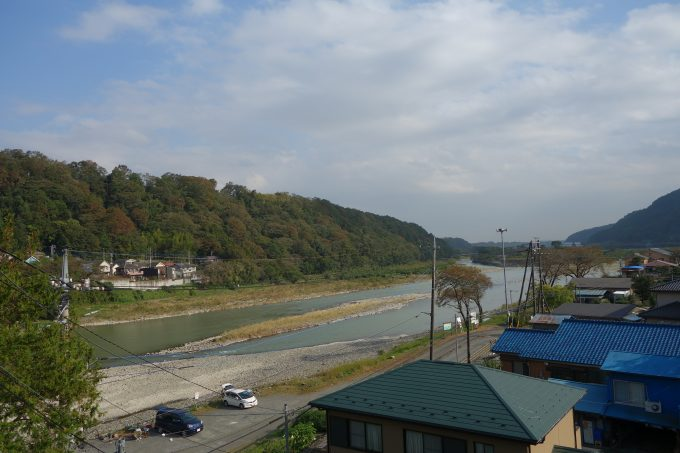 2020東京オリンピックロードレースコース 小倉橋からの景色