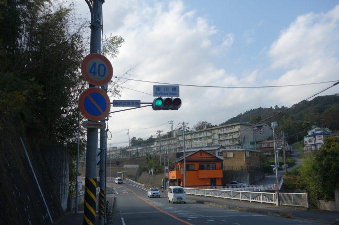2020東京オリンピックロードレースコース 串川橋交差点