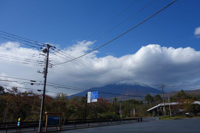2020東京オリンピックロードレースコース 須走から見る富士山