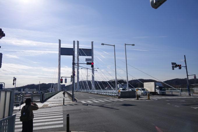 2020東京オリンピック ロードレースオフィシャルスタート地点の是政橋