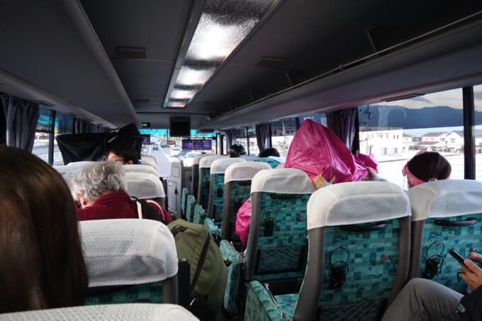 オレンジフェリー東予港と壬生川駅の連絡バス