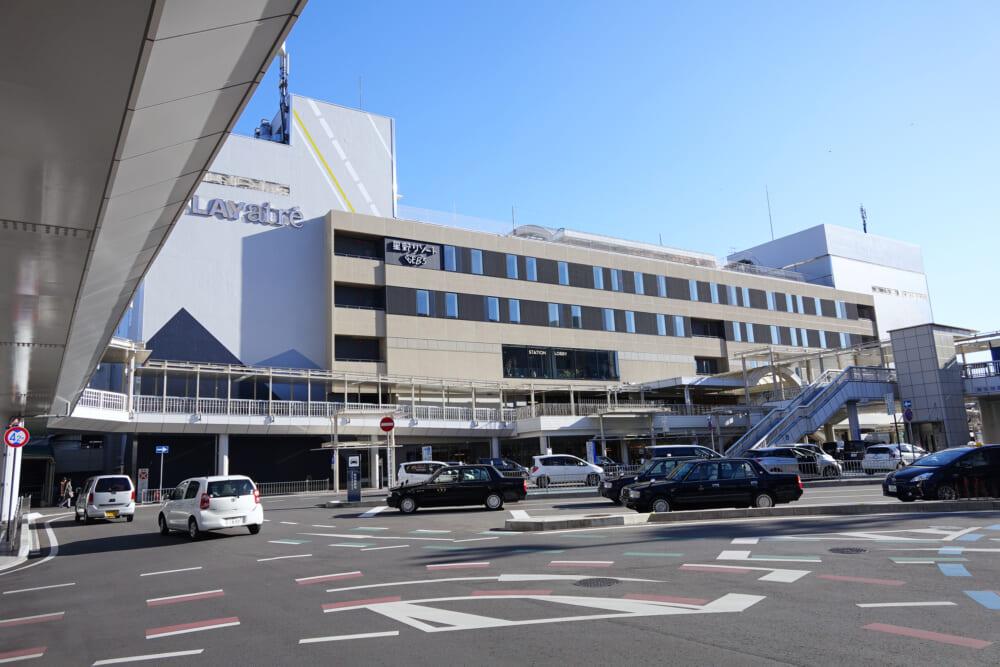 つくば霞ヶ浦りんりんロードの基点 土浦駅