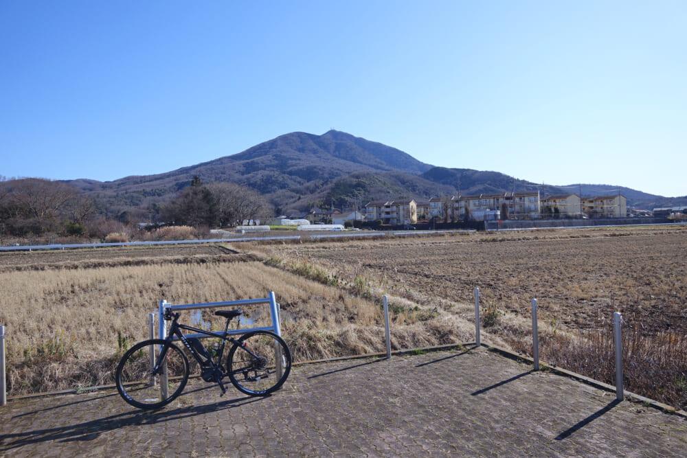つくば霞ヶ浦りんりんロード 筑波山の景色