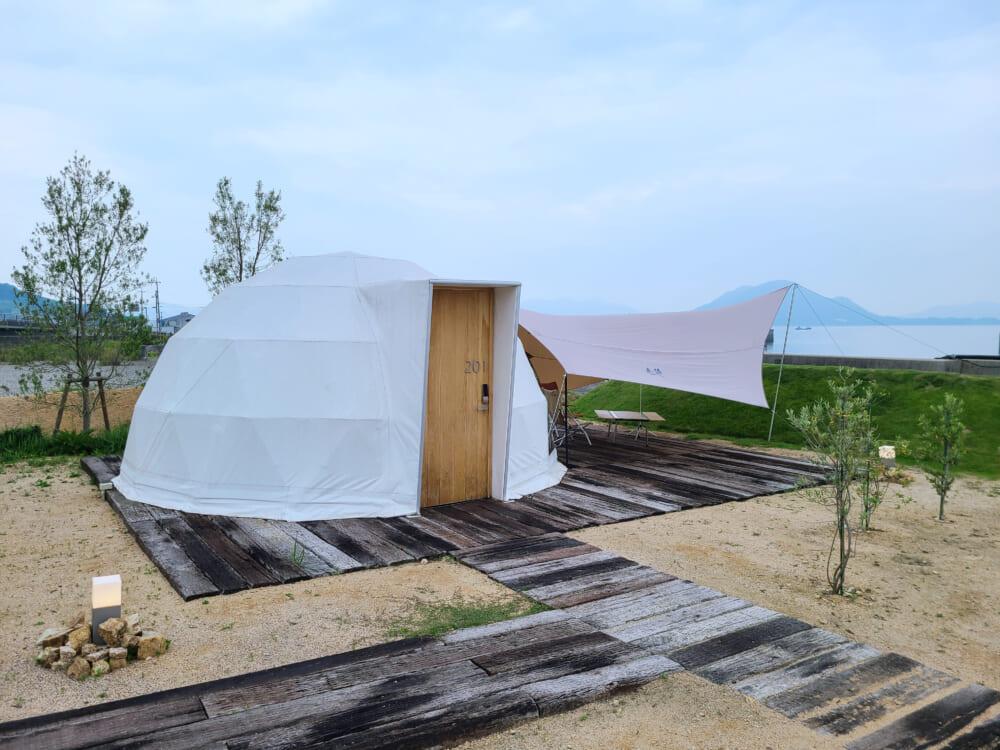 WAKKAのドームテント