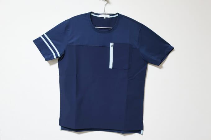 Winner ストレッチ×カットソー切り替えTシャツ 正面