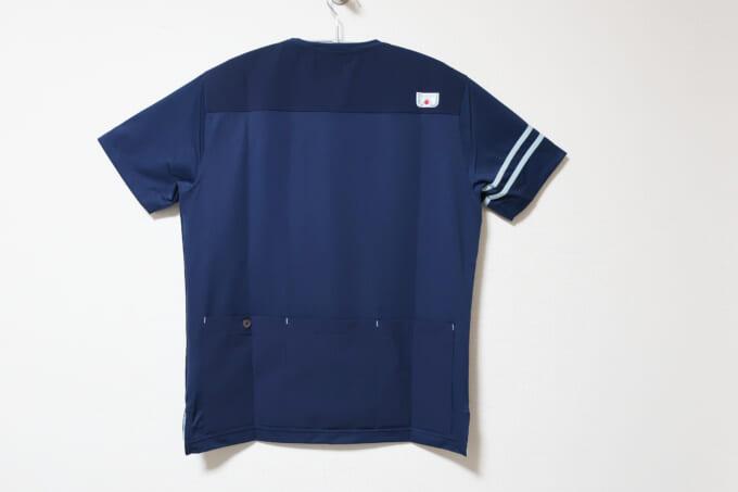 Winner ストレッチ×カットソー切り替えTシャツ 背面