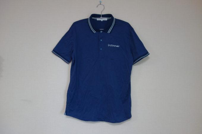 カジュアルサイクルウェアWinner multieffectポロシャツ 正面