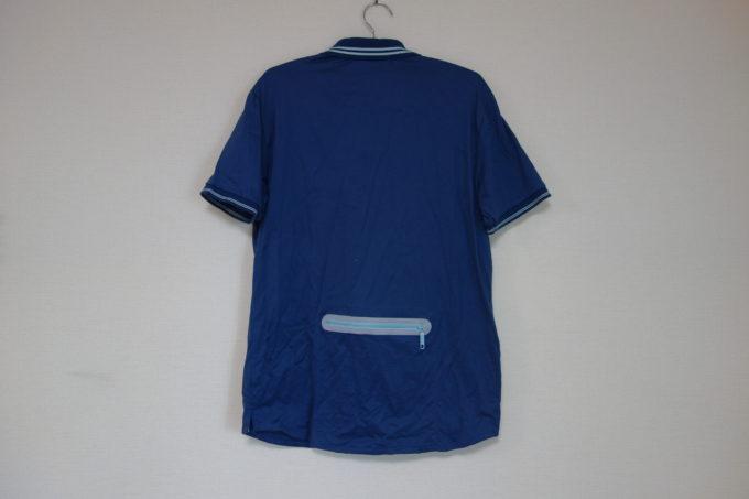 カジュアルサイクルウェアWinner multieffectポロシャツ 背面
