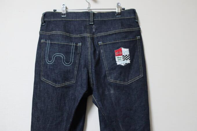 Winnerウィナー スーパーストレッチサイクルジーンズ 後ろポケット