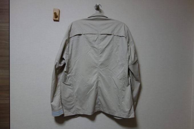 サイクルウェアwinner テーラー衿ジャケット(ベンチレーション付き) 背面