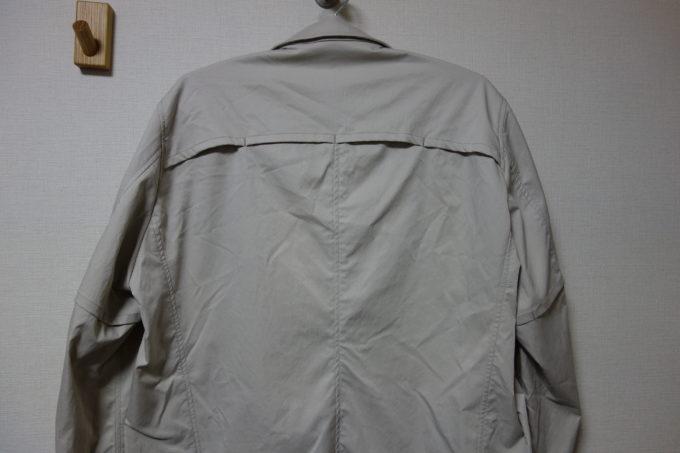 サイクルウェアwinner テーラー衿ジャケット(ベンチレーション付き) 背中とそで下のベンチレーション