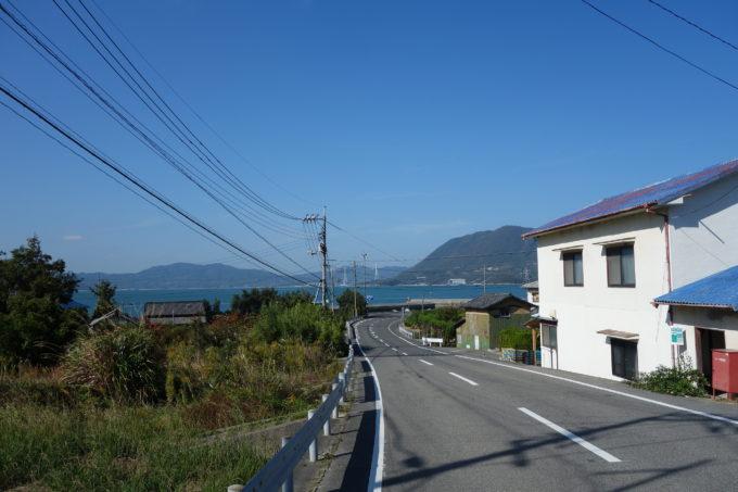 ゆめしま海道岩城島の景色