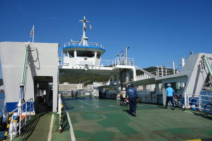 しまなみ海道因島とゆめしま海道生名島を結ぶフェリー