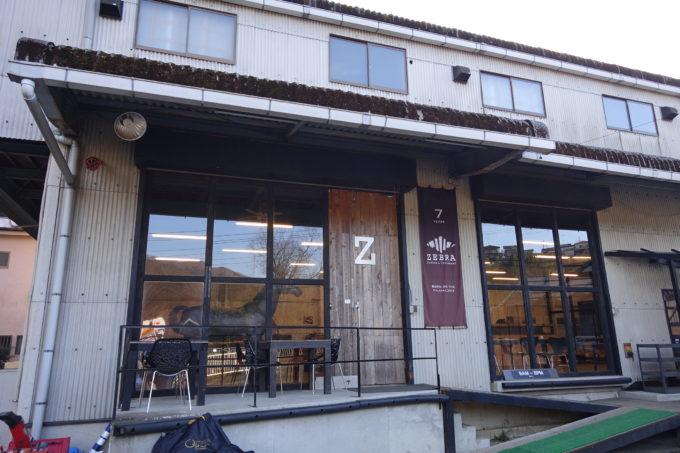 ゼブラコーヒー&クロワッサン 店舗近影